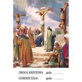 Plakat religijny - Droga Krzyżowa (15)