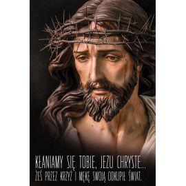 Plakat religijny – Kłaniamy się Tobie, Jezu Chryste (19)