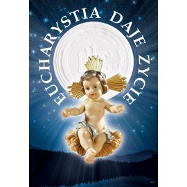 Plakat religijny – Eucharystia daje Życie (22)