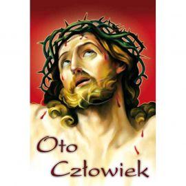 Plakat religijny – Oto Człowiek (24)