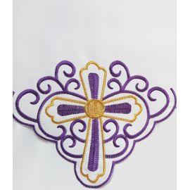 Obrus ołtarzowy haftowany - Krzyż (63)