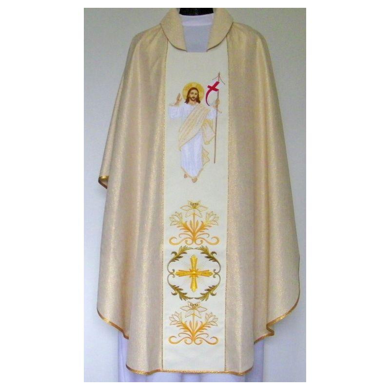 Ornat haftowany - Chrystus Zmartwychwstały (47)
