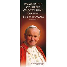 Baner Święty Jan Paweł II