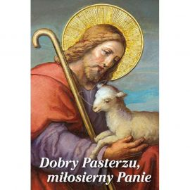 Plakat religijny – Dobry Pasterzu, miłosierny Panie (32)