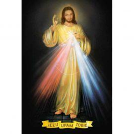 Plakat religijny – Jezu ufam Tobie (37)