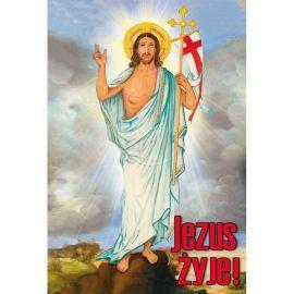 Plakat religijny – Jezus żyje! (40)
