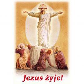 Plakat religijny – Jezus żyje! (41)
