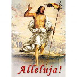 Plakat religijny – Jezus żyje! (43)