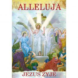 Plakat religijny – Alleluja Jezus żyje! (46)