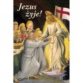 Plakat religijny – Jezus żyje! (50)