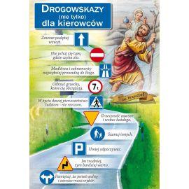 Plakat religijny – Święty Krzysztof - Drogowskazy (56)