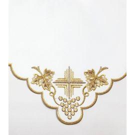 Obrus ołtarzowy haftowany - wzór eucharystyczny (121)