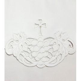 Obrus ołtarzowy haftowany - wzór eucharystyczny (123)