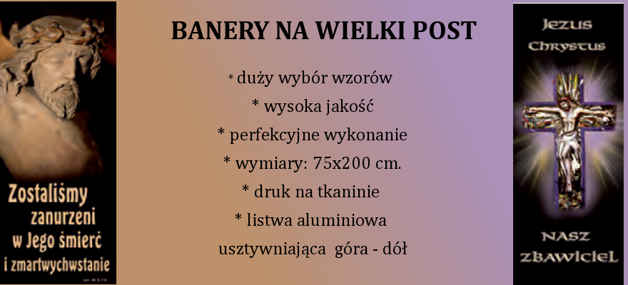 banery wielki post